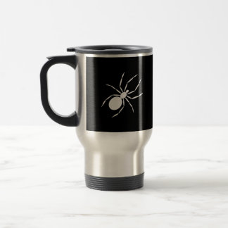 A Graphic of a Spider Mugs