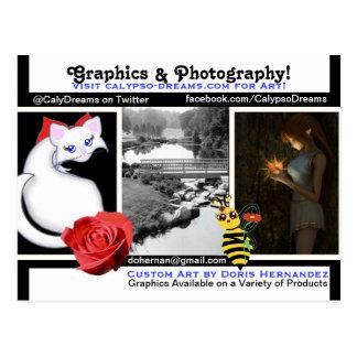 A* Graphics Mix Business Card Postcard