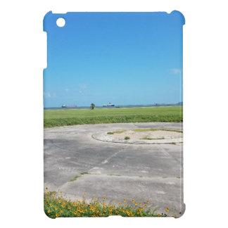 a grassy plain case for the iPad mini