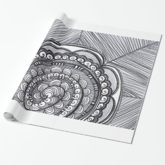 A Gray We Go Wrapping Paper
