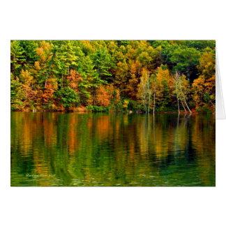 +A Great Awakening Light: Walden Pond Card