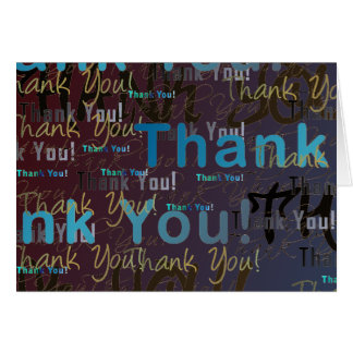 A Great Big THANK YOU - Nutty Girl Inside Card