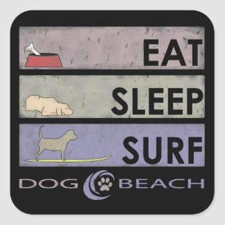 A great sticker for dog and beach lovers!