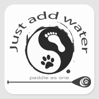 A great sticker for paddleboard lovers