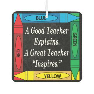 A Great Teacher Inspires | for Teachers