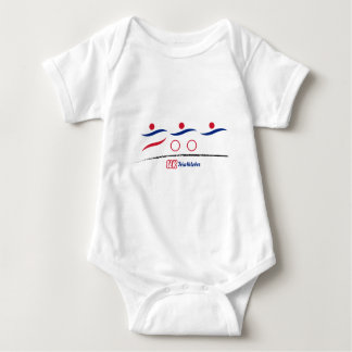 A great Triathlon gift for your friend or family Baby Bodysuit