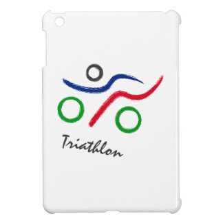 A great Triathlon gift for your friend or family Cover For The iPad Mini