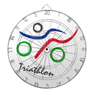 A great Triathlon gift for your friend or family Dartboard