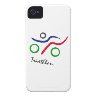 A great Triathlon gift for your friend or family iPhone 4 Case