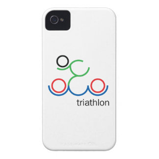 A great Triathlon gift for your friend or family iPhone 4 Covers