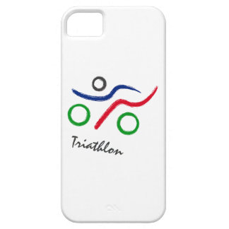 A great Triathlon gift for your friend or family iPhone 5 Covers