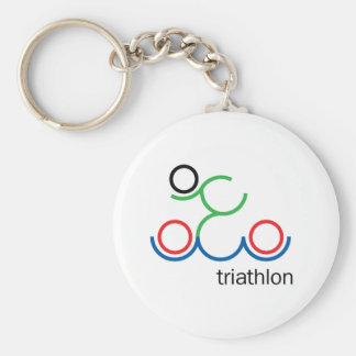 A great Triathlon gift for your friend or family Key Ring