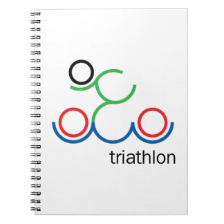 A great Triathlon gift for your friend or family Notebooks