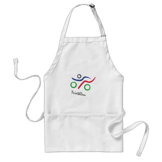 A great Triathlon gift for your friend or family Standard Apron