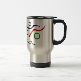 A great Triathlon gift for your friend or family Travel Mug