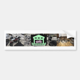 A great way to show your love for barn find bikes bumper sticker