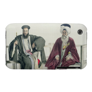 A Greek Priest and a Turk, engraved by the Thierry iPhone 3 Cases
