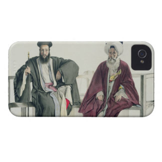 A Greek Priest and a Turk engraved by the Thierry iPhone 4 Cover