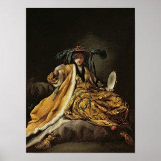 A Greek Sultana, 1748 Poster