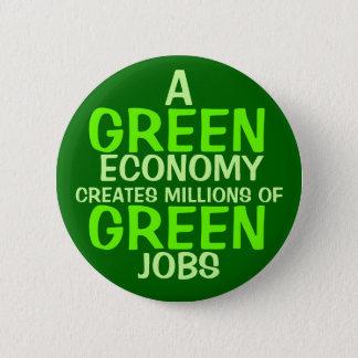 A Green Economy 6 Cm Round Badge