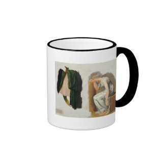 A green toga and Camille Ringer Mug