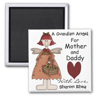 A Guardian Angel for You by SRF Magnet