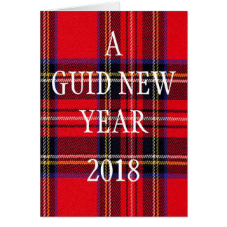 A GUID NEW YEAR GREETING CARD