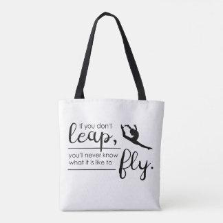 A Gymnast/ Dancer 's Inspirational Bag