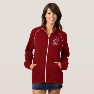 A+ H.E.L.P. Red Jacket Zip Up Ladies