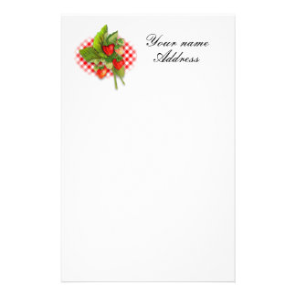 A-h-h Strawberries! Stationery