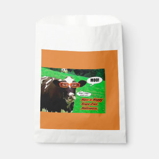 A Halloween Greeting Favour Bag