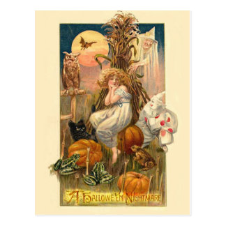 A Hallowe'en Nightmare Postcard