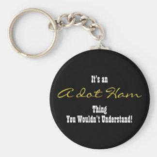 A. Ham Keychain