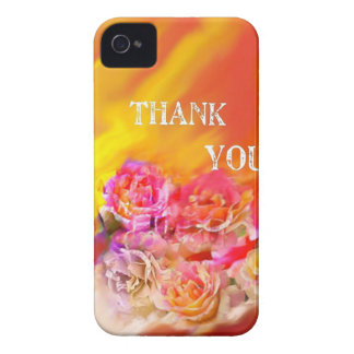 A hand full of thanks tends toward you. iPhone 4 cover