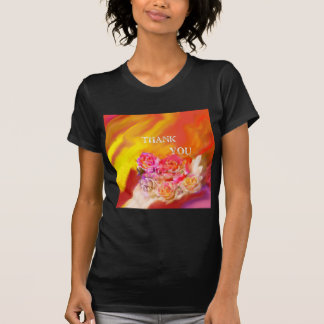 A hand full of thanks tends toward you. T-Shirt