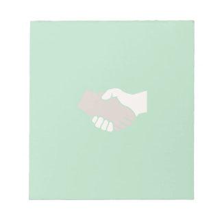 A Handshake Is Good Scratch Pad