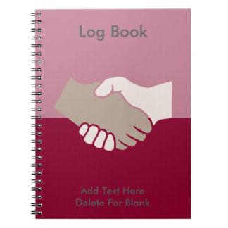 A Handshake Is Good Spiral Notebooks