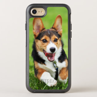 A Happy And Energetic Pembroke Welsh Corgi Puppy OtterBox Symmetry iPhone 7 Case