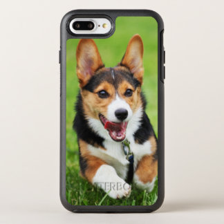 A Happy And Energetic Pembroke Welsh Corgi Puppy OtterBox Symmetry iPhone 8 Plus/7 Plus Case