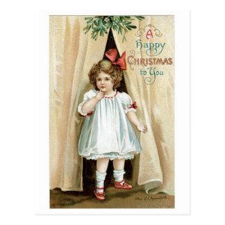 A Happy Christmas to You - Ellen Clapsaddle Postcard