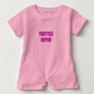 A happy, cute, funny, baby girl baby bodysuit
