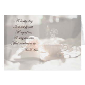 A Happy Day Thinking of You Card