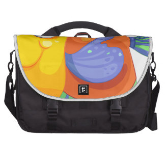 A happy fish bag for laptop