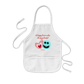 A Happy Heart - Proverbs 15:13 NIV Kids Apron