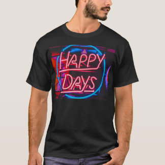 A happy people t shirt