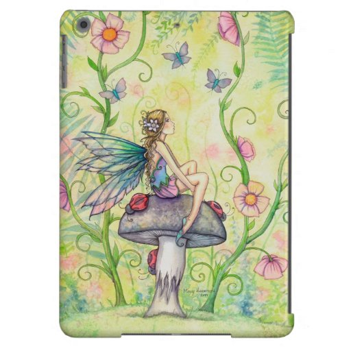 A Happy Place Fairy Fantasy Illustration Cover For iPad Air