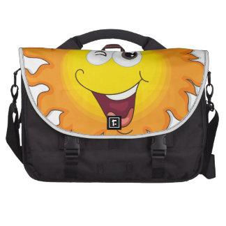 A happy sun laptop computer bag