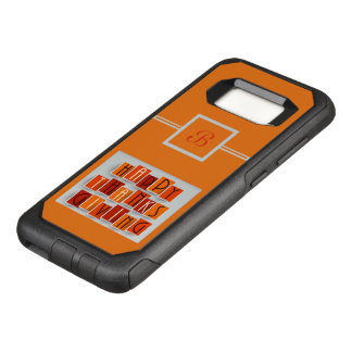 A Happy Thanksgiving OtterBox Commuter Samsung Galaxy S8 Case