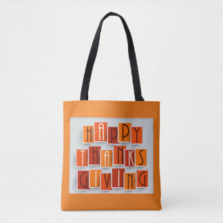 A Happy Thanksgiving Tote Bag