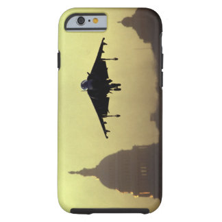 A Harrier jet landing on the Mall at dawn with Tough iPhone 6 Case